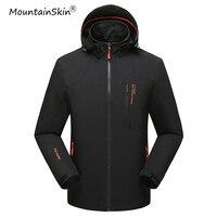 Mountainskin 2017 New Men S Spring Autumn Jackets Fashion Hooded Coats Male Waterproof Windproof Brand Jackets