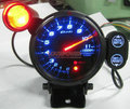 80mm DEFI BF Tachometer RPM Gauge 11000 RPM Blue LED Back Light With turn lights