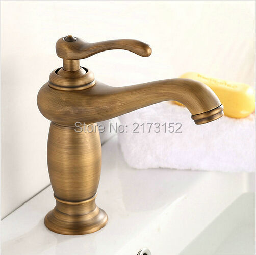 Free Shipping Royal Antiuqe Brass Bathroom Faucet Classic Brass Basin Sink Mixer Tap A-004Free Shipping Royal Antiuqe Brass Bathroom Faucet Classic Brass Basin Sink Mixer Tap A-004