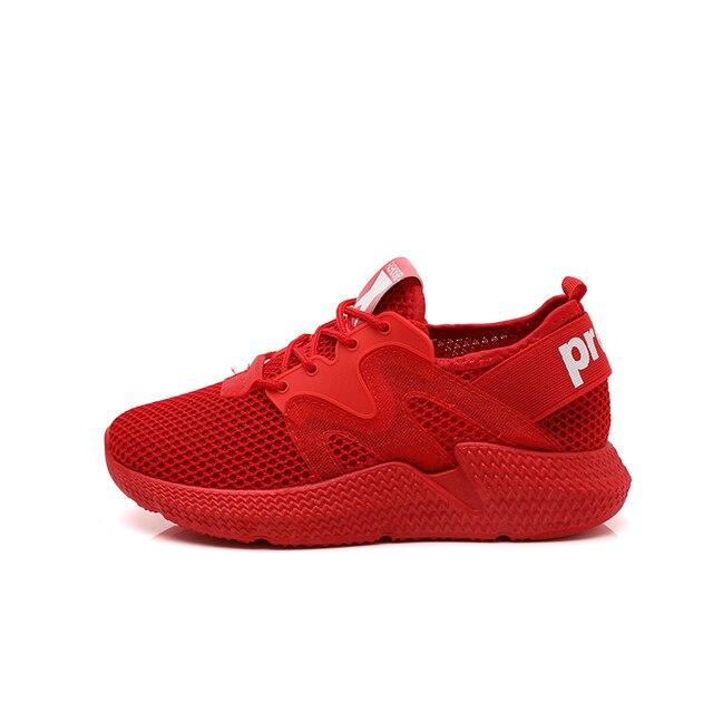 Женские дышащие спортивные туфли на толстой подошве Увеличение Женская обувь нескользящие износостойкость мягкие дышащие пары спортивной обуви