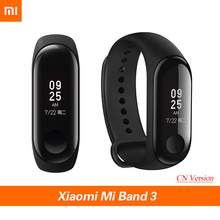 Origina Xiaomi Mi Band 3 Smart Wristband Fitness Bracelet MiBand Band 3 Big Touch Screen OLED Message Heart Rate Time Smartband original xiaomi mi band 2 smart fitness bracelet watch wristband miband oled touchpad sleep monitor heart rate mi band2