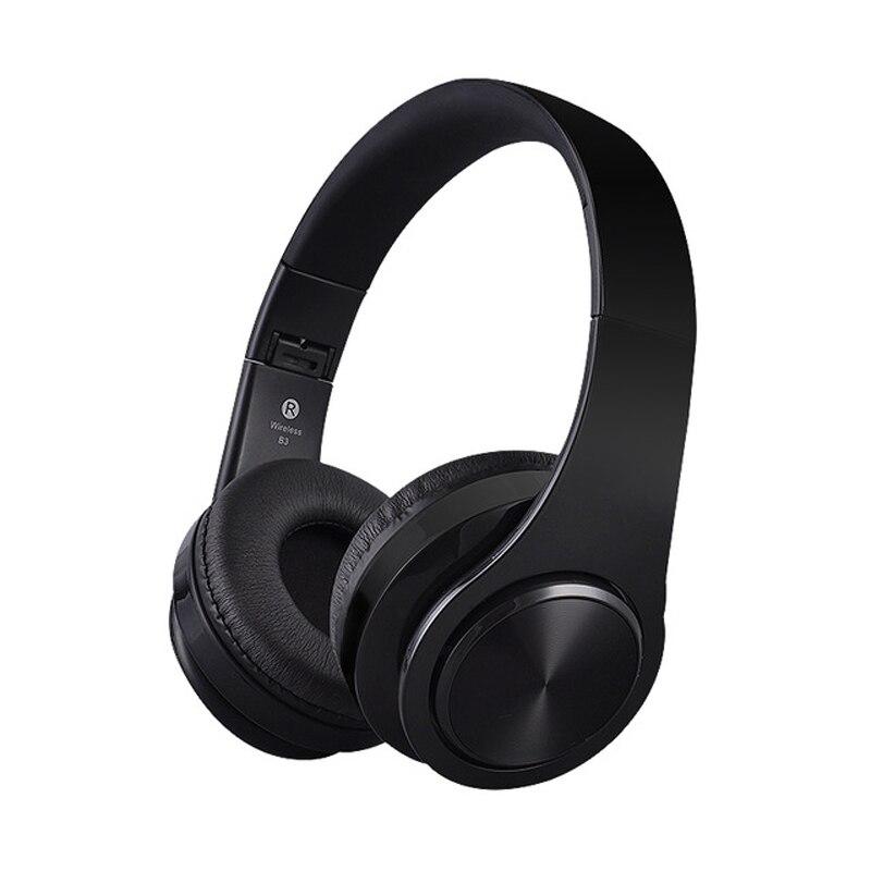 Stereo Handsfree Headfone Auricolario Cuffie Auricolare Bluetooth  Auricolare Cuffia Senza Fili per Computer PC Aux Capo Del Telefono f0470bcfaaee