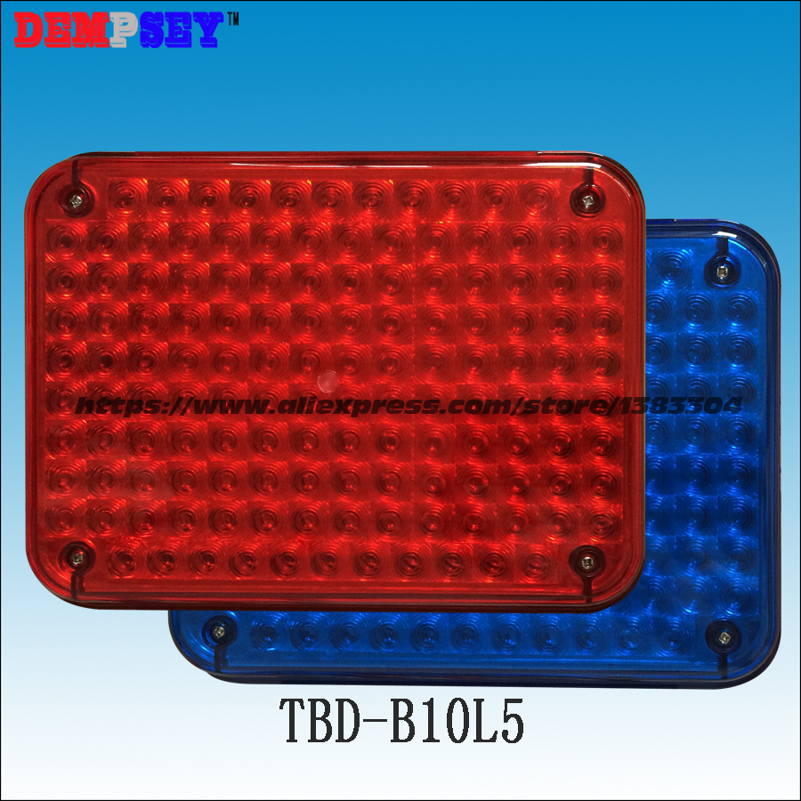 TBD-B10L5 High quality warning lights for fire truck&ambulance car,surface mounting,Waterproof,DC12V or 24V, blue/blue 134 LEDs a975got tbd b a975got tba ch a975got tbd ch touch pad