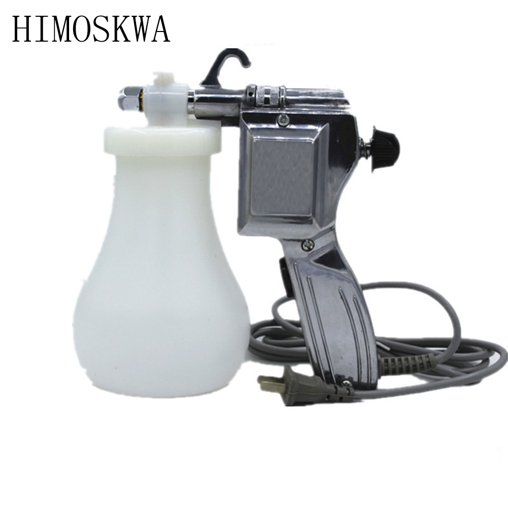 HIMOSKWA 220V 40W Electric Cleaning spray gun water gun high pressure gun free shipping free shipping iwata tof 50 062p special purpose small sized spray gun mold release agent gun