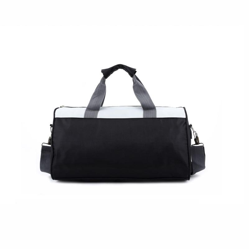 Женская и Мужская спортивная сумка для фитнеса, баскетбола, футбола, тренировок, тренажерного зала, бега, кемпинга, Холщовая Сумка на одно плечо, дорожные спортивные сумки-4