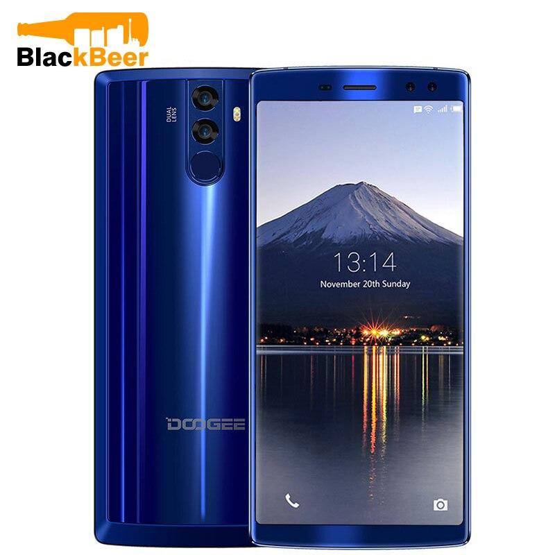 DOOGEE BL12000 SmartPhone MTK6750T Octa Core 4GB + 32GB Android 7.1 téléphone portable 6.0 pouces 18:9 écran tactile double caméra téléphone Mobile