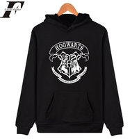 Hogwarts Mens Hoodies And Sweatshirt Men Clothing Tracksuit Streetwear Moletom Masculino Hogwart Deathly Hallows Hoodie