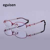 Myopia Glasses Of Pure Titanium Spectacle Frame IP Plating Danyang Glasses Female Fashion Wholesale 929 Big