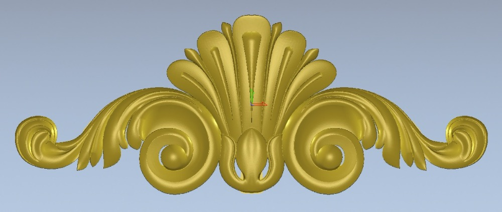 Relief 3d STL Models For CNC, Artcam, Aspire, Decor-B196