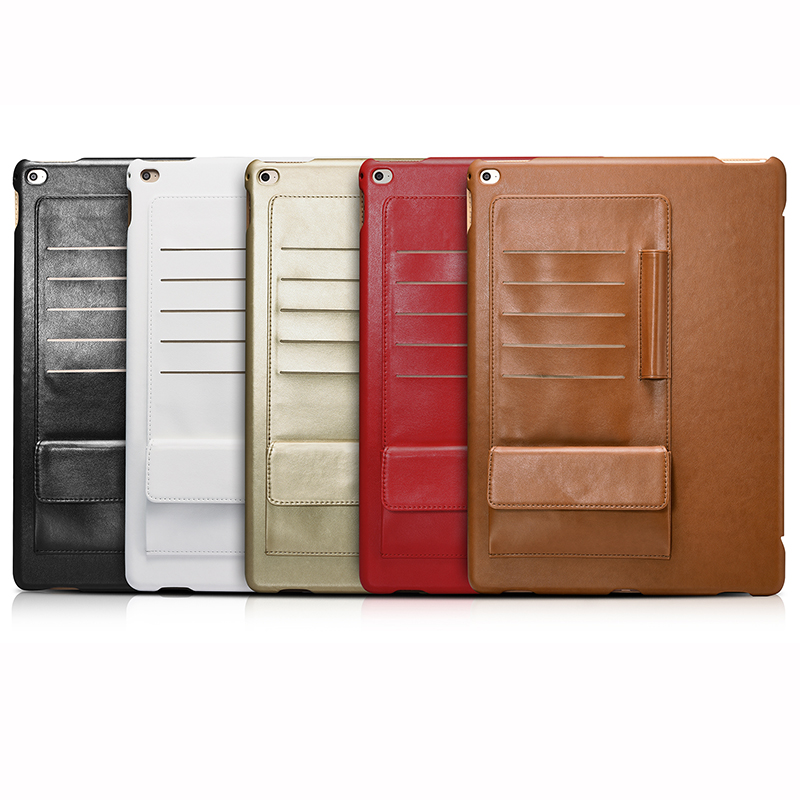 For Apple iPad Pro 12.9 Cover Case Luxury Business Multi credit ...