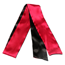 Necktie Blindfold In Red And Black Color