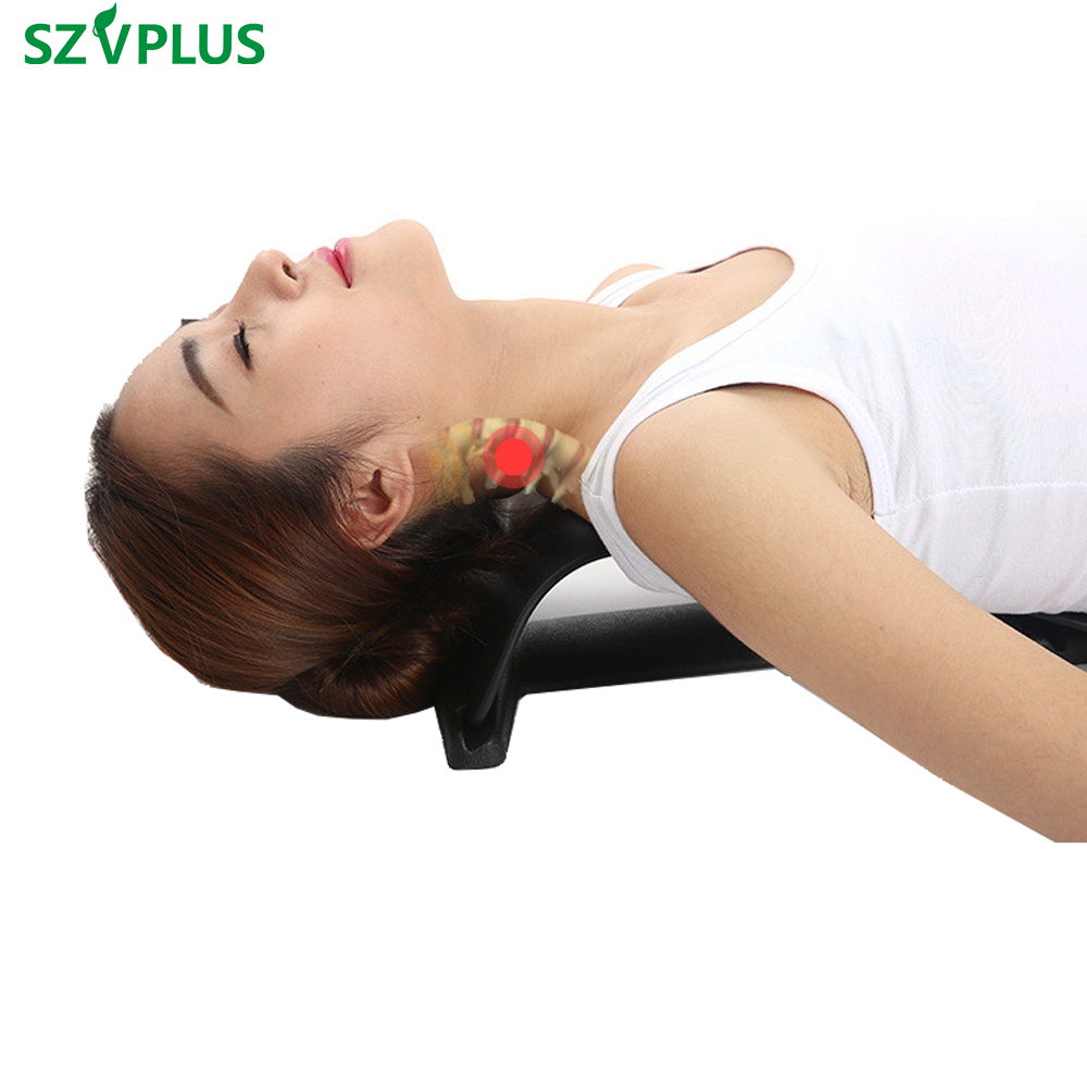 manual traction relief neck pain