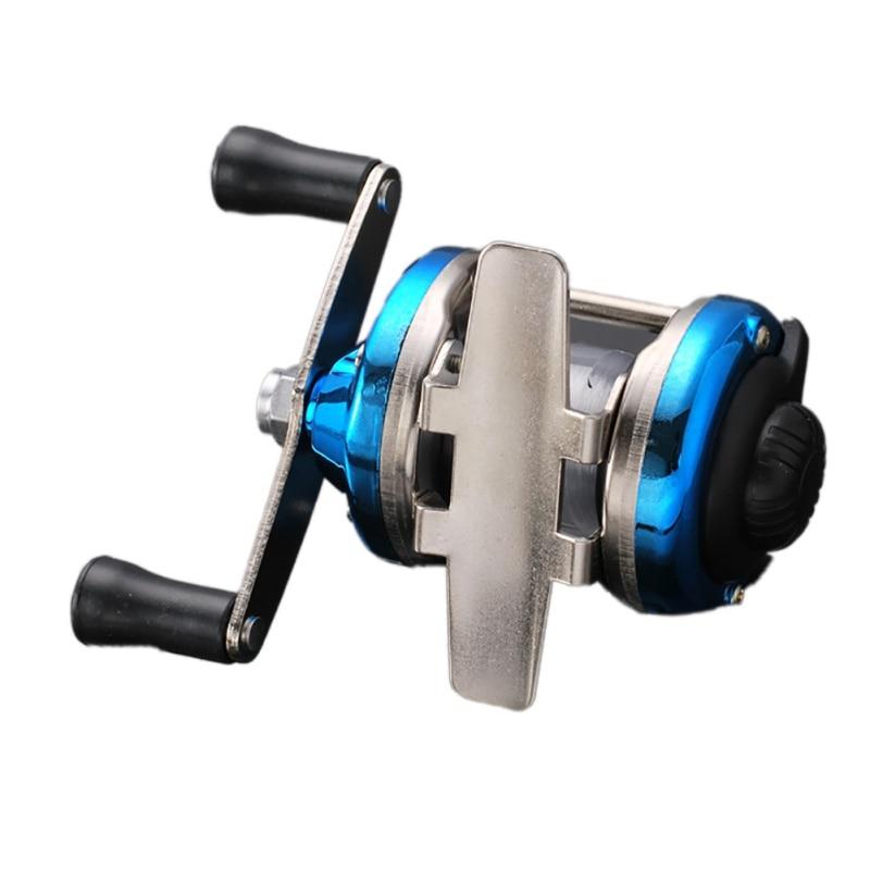 1 6.3:1 Metal Bait Casting Left//Right Handle Spinning Fishing Reel Wheel 6.3