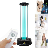 UV home germicidal lamp disinfection lamp in addition to mites lamp wireless remote control UV sterilized ozone lamp