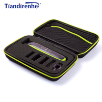 Portable Case for Philips OneBlade Trimmer Shaver and Accessories EVA Travel   Bag   Storage Pack Box Cover Zipper Pouch with Lining