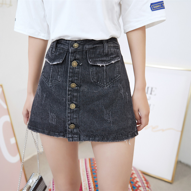 Tigena Neuheiten 2019 Sommer Casual Denim Shorts Frauen Hohe Taille Shorts Jeans Femme Weibliche Breite Bein Lose Kurze Hosen Damen Hosen
