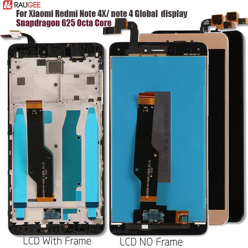 Für Xiaomi Redmi Hinweis 4X/4 Globale LCD Display Touch Screen ersatz für Xiaomi Redmi Hinweis 4 Snapdragon 625 octa Core 5,5''