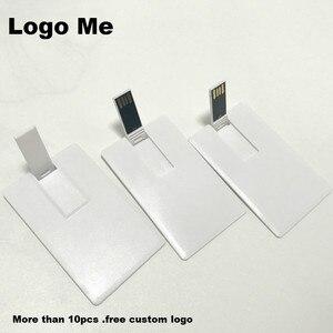 O logotipo feito sob encomenda livre da empresa 100% capacidade usb flash drive cartão de crédito modelo caneta drive 4 gb 8 gb 16 gb 32 gb usb 2.0 memória vara flash