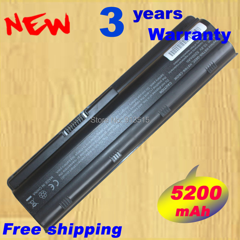 5200mAh DM4 Laptop battery for HP 586007 593553 593554 593562 HSTNN-UB0W WD548AA CQ32 cq43 cq56 CQ42 Free shipping