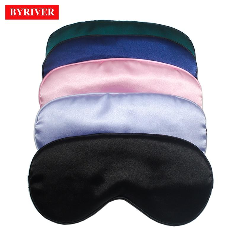 PU Leather Sleep Eye Masks Travel Sleeping Blindfold Eye Cover Shade Patch