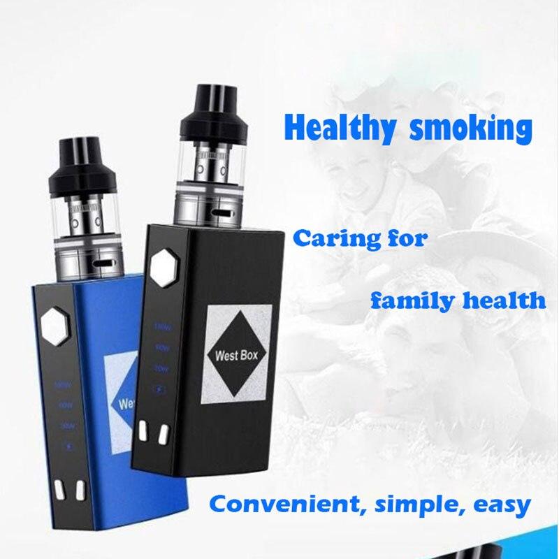 Electric Cigarette V6 Flash Mod Kit 100W 2200mah Build-in Battery For 2.5ml Atomizer E Cig Smoke Vape Pen Vaporizer Vs Ijust S
