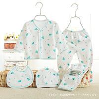 5pcs Set Newborn Baby Girl Clothes 100 Cotton Enfant Clothing Set Bebek Giyim Brand Baby Boy