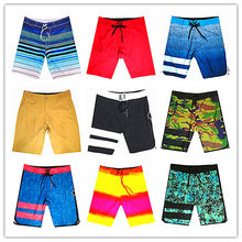 Wholesale Retail 2019 Brand Phantom Men Beach Board Short Swimwear 100% Quick Dry Elastic Spandex Swimtrunks Sexy Man Boardshort(China)