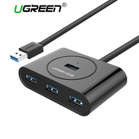 Ugreen Multi USB 3 0 Hub 4 Port Usb Splitter With LED Indicator For PC Laptop