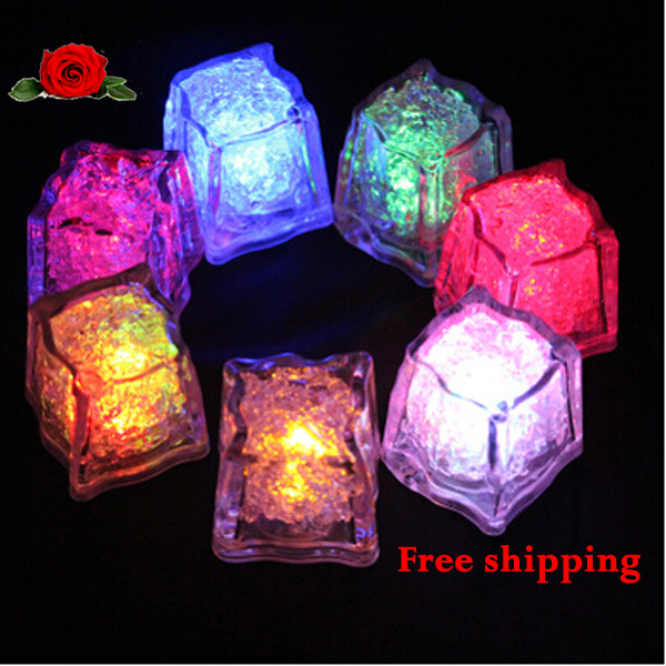 novelty led ice cubes light up when contact vinho water styling tools wedding party
