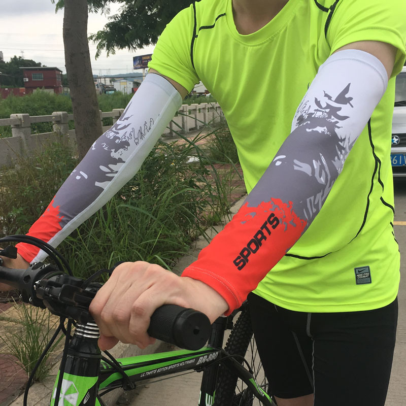 1 pair breathable arm Sleeves Sun UV Protection for Outdoor Games Sports Hiking