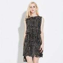 Черные, белые летние Коктейльные платья со снежинками и вышивкой из бисера, вечерние платья на подтяжках, Vestidos De Coct 9576
