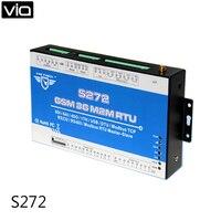 Король Голубь S272 Бесплатная доставка 3g версия GSM удаленного Управление переключатель terminal/GSM rtu, S272 с RS232 RS485 USB 8DIN 6AIN 4DO