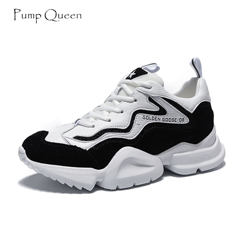 PumpQueen Sneakers Fashion Casual Women 2018 New Summer Mixed Colors Shoes Air Mesh Feminino Zapatos Mujer Woman Walking Shoes instantarts cute poodle dog pattern sneakers women s casual flats air mesh walking shoes ladies student outside shoes zapatos