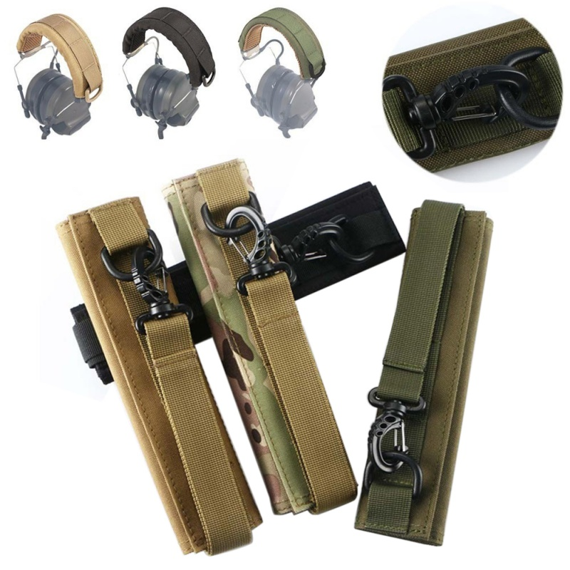 Outdoor Hunting Camouflage Durable Soft Material MOLLE System Army Fans Hunting Headphone Blind Cover