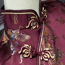 Dragon Print Traditional Chinese Top