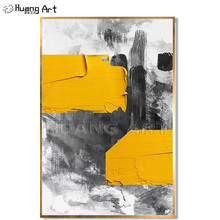 Skill Painter Hand Painted Acrylic Canvas Painting for Room Decor Modern Abstract Knife Texture Oil Wall Art Picture