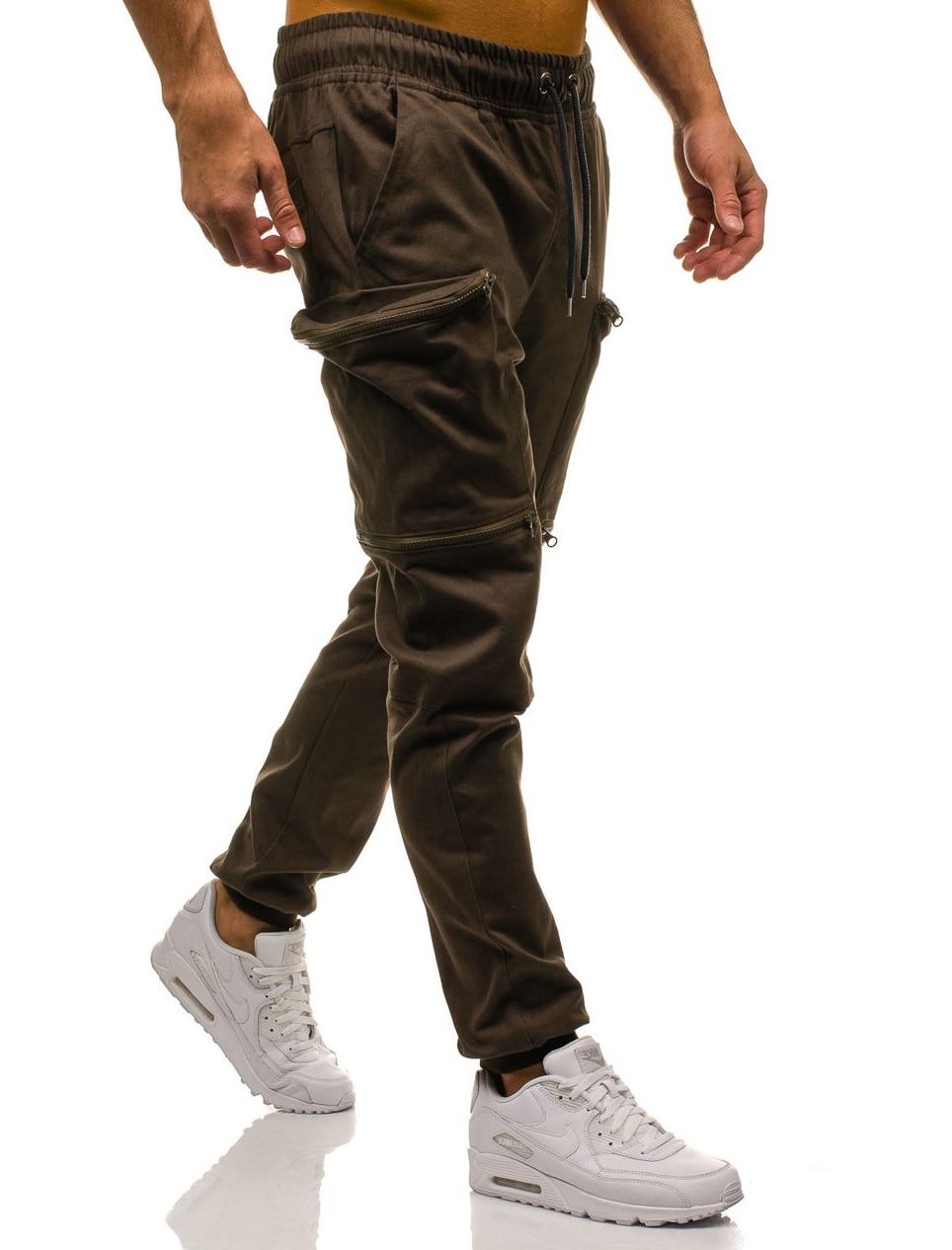 HTB1FO2eLYvpK1RjSZPiq6zmwXXaT Mens Joggers 2019 New Red Camouflage Multi-Pockets Cargo Pants Men Cotton Harem Pants Hip Hop Trousers Streetwear XXXL