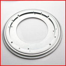 12inch New Round rotating turntable Lazy Susan Ball Bearing Metal Swivel Plate base for table chair display stand(China)