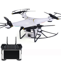 Newest RC Drone With Camera HD WiFi Dron Helicopter Auto Return Altitude Hold RC Quadcopter VS X5UW X5SW E58 XS809HW S10
