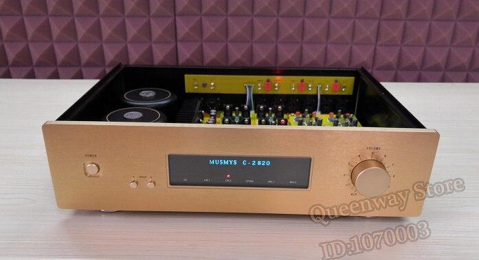 M-013 C-2820 PRO PA-3 preamplificatore HIFI amplificatore stereo di casa preamplificatore Preamplificatore versione aggiornata