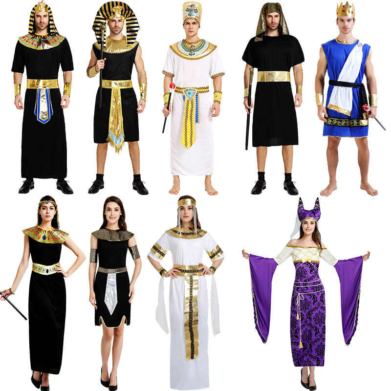 Plus size pharaoh adult costume not present
