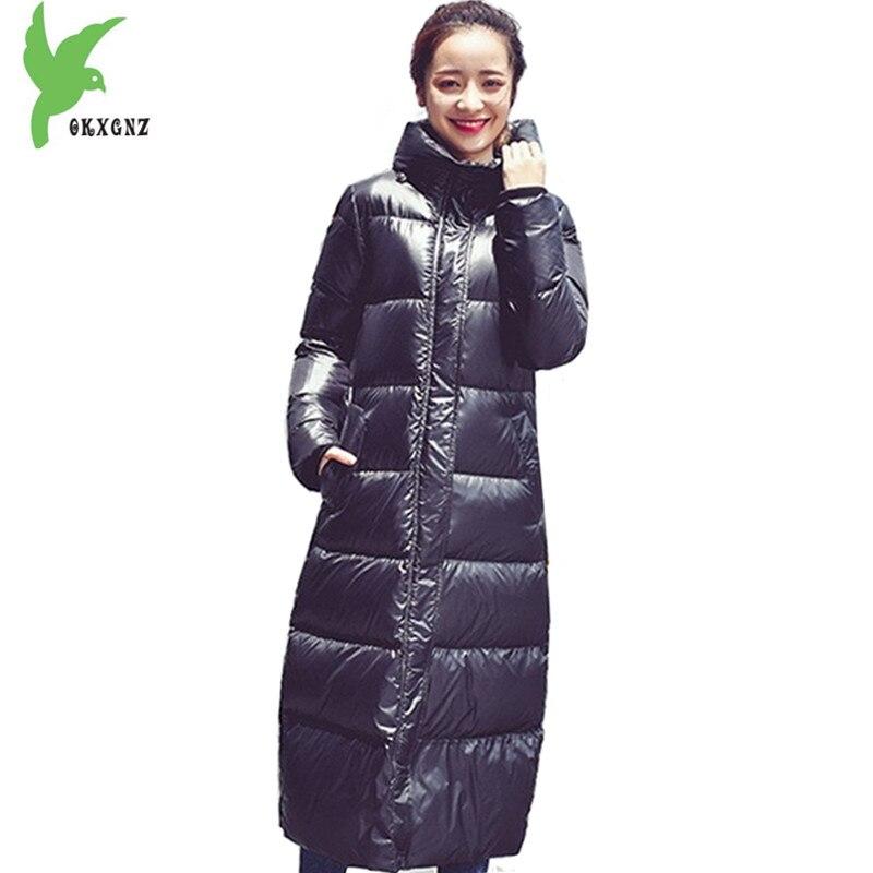 Boutique Women Winter Down Jackets Cotton Coats Black Warm Parkas Thickened Hooded Down Jackets Female Cotton Coats OKXGNZ A1300