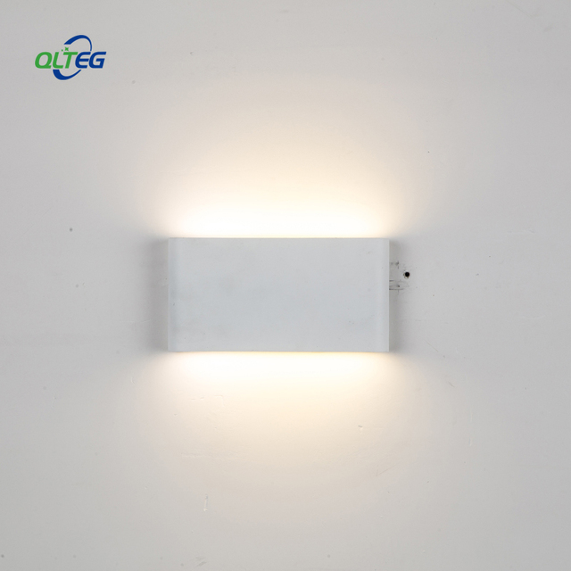 Qlteg 6w 12w Wall Lamps Modern Up Down Dual Head Indoor Outdoor Lighting Contract Cob