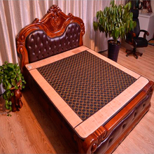 Hot Jade Tourmaline Electric Heating Massage Mattress with Far Infrared Theraphy High Quality Products Directly from Factory