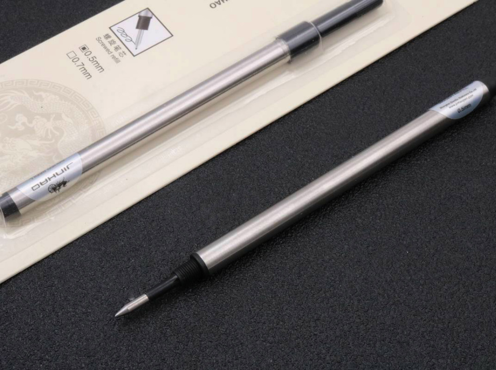 2pc Jinhao Fit 159 599 189 950 Black Offer Special Ink Revolving RollerBall Pen Refills