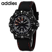 TOP Luxury Watches  Fashion Casual Mens Noctilucent Quartz Wristwatch Waterproof Outdoor Sports Military Form
