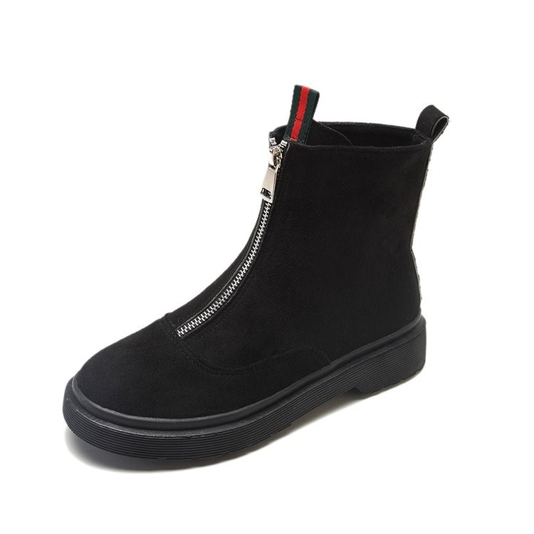 2018 new Martin boots female British wind tube Korean version of the wild ankle boots winter boots. 3