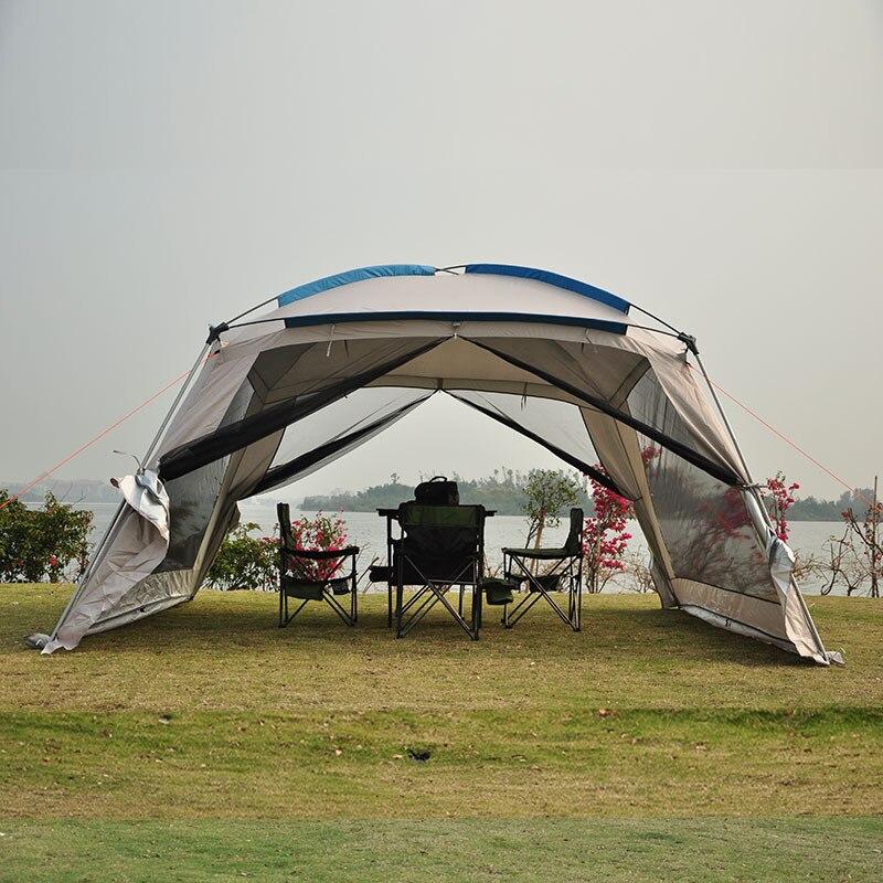 Sun ShelterSunshade Shelter Beach Canopy Awning Super Big Anti UV Waterproof Windproof Lightweight C&ing Tent Tarp Sun Shelte-in Sun Shelter from Sports ... & Sun ShelterSunshade Shelter Beach Canopy Awning Super Big Anti UV ...