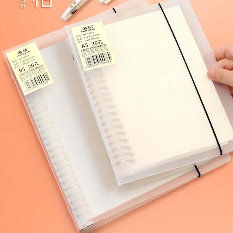 A5 B5 Spiral Book Coil Detachable Notebook Lined DOT Blank Grid Paper Journal Diary Sketchbook For School Supplies Stationery