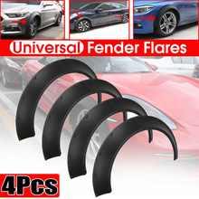 4x elastyczne uniwersalny samochód szeroki dla nadkola koła łuki rozszerzenie dla BMW F32 F33 F36 E90 E92 E93 dla BENZ W205 W204 W203